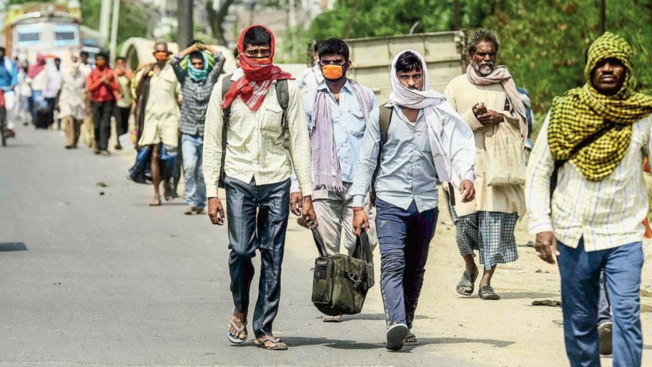 For migrants, hunger deadlier than Covid